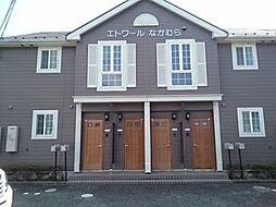 滋賀県大津市下阪本4丁目の賃貸アパートの外観
