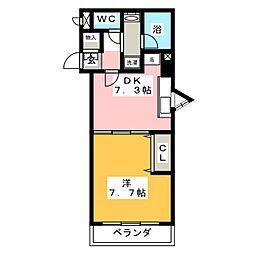 光穣[8階]の間取り