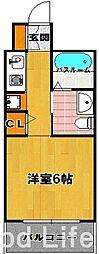 フェルト 627[3階]の間取り