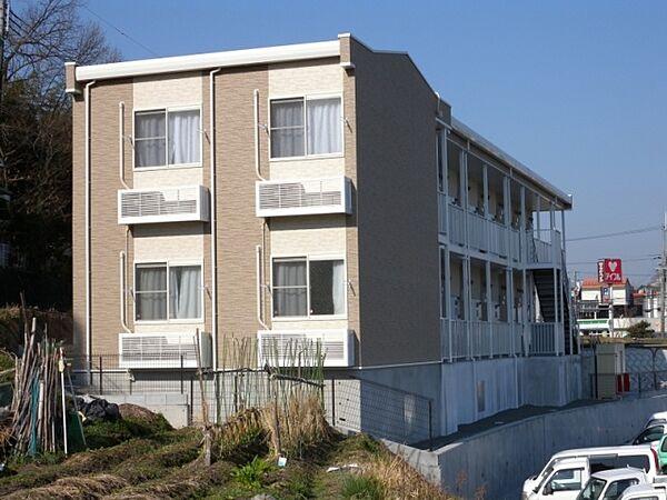 兵庫県三田市八景町の賃貸アパートの外観