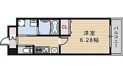 クローバー・グランデ昭和町[208号室]の間取り