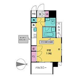 SK BUILDING6[9階]の間取り