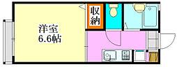 グランドール21 A・B棟[2-207号室]の間取り
