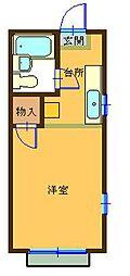 シルクハイムIWASAKI B棟[1階]の間取り