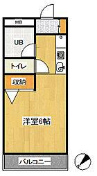 第3関根ビル[401号室号室]の間取り