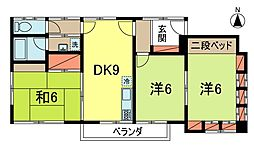 木村方[2階]の間取り
