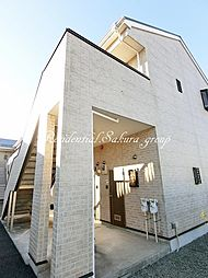 神奈川県藤沢市亀井野1丁目の賃貸アパートの外観
