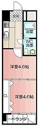 PROJECT2100小倉駅[201号室]の間取り