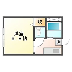 勝間田駅 2.5万円