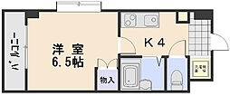 第2植野ビル[2階]の間取り