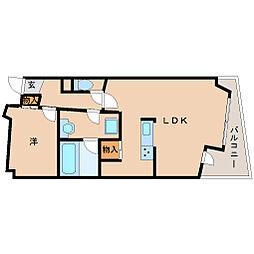 武庫之荘GEMELLI[2階]の間取り