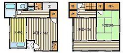 [一戸建] 埼玉県志木市本町2丁目 の賃貸【/】の間取り