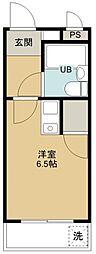 煉瓦館9[111号室号室]の間取り
