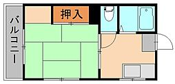 第一シャトル松島[1階]の間取り