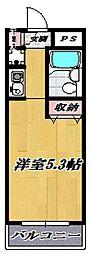 スカイコート宮崎台 第三[306号室号室]の間取り