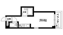 クワドリフォリオ[306号室]の間取り
