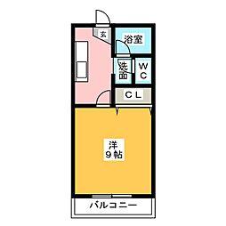 SEZON6[2階]の間取り