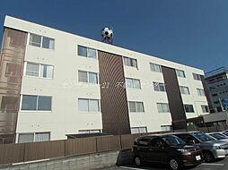 岡山県岡山市中区森下町の賃貸マンションの外観