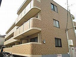 岡山県岡山市北区津島新野1丁目の賃貸マンションの外観