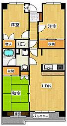 カーサ・フィヨーレ2[6階]の外観