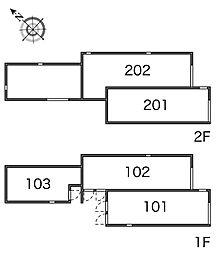 リーブス武蔵小山[1階]の間取り