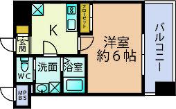 サヴォイエクセルシオール[4階]の間取り