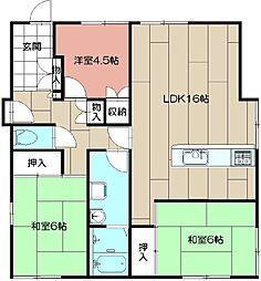 [一戸建] 福岡県遠賀郡水巻町頃末北3丁目 の賃貸【/】の間取り