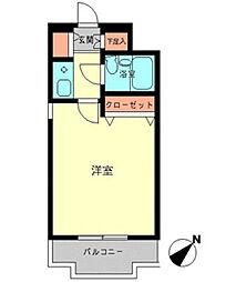 神奈川県座間市相模が丘2丁目の賃貸マンションの間取り