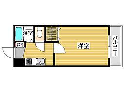 ラカーサ田島[2階]の間取り