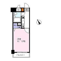 ライオンズマンション川崎第15[8階]の間取り