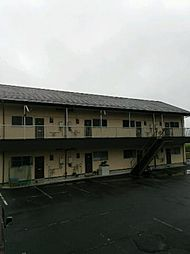 静岡県御殿場市山之尻の賃貸アパートの外観