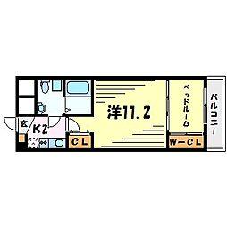 セレニテ甲子園I[4階]の間取り