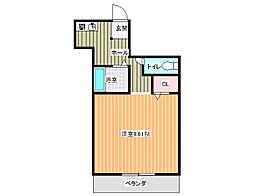 ホープハウス3[305号室]の間取り