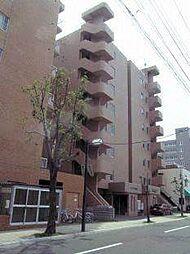 北海道札幌市白石区本通3丁目北の賃貸マンションの外観