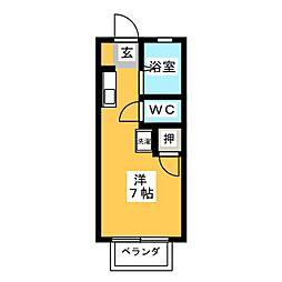 アーバンハイム松本[1階]の間取り