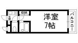 プレアール香里園駅前[0203号室]の間取り