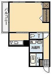 JUN丸山[301号室]の間取り