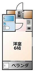 (分譲)ダイドーメゾン甲子園II[2階]の間取り