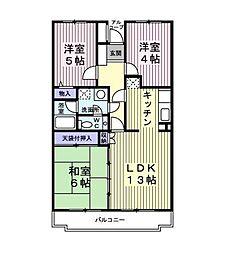 ルミナール太平台[303号室]の間取り