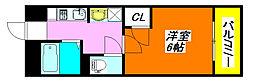 EST布施 202号室[2階]の間取り
