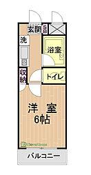 ライフマンションY・M・K[1階]の間取り