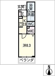仮)シャーメゾン東海通[3階]の間取り
