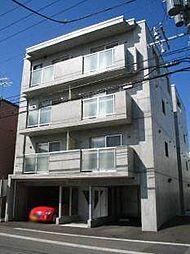 北海道札幌市白石区本通10丁目南の賃貸マンションの外観