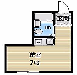 大宝小阪CTハウス[310号室]の間取り