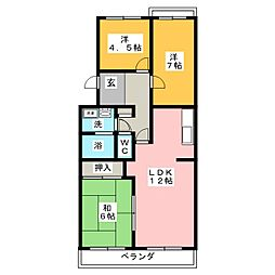 ベイトシャローム[1階]の間取り