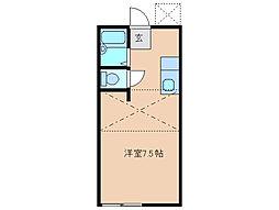 ドエルアルフィー[2階]の間取り