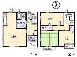コモド高須台 C棟[1階]の間取り
