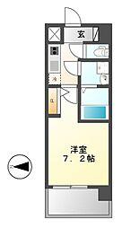 UURコート名古屋名駅[15階]の間取り