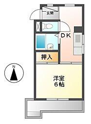 高野ビル[3階]の間取り