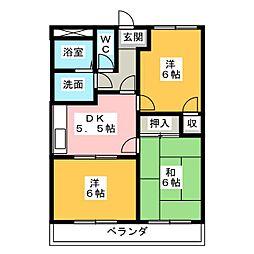 アスタルティアKI[2階]の間取り